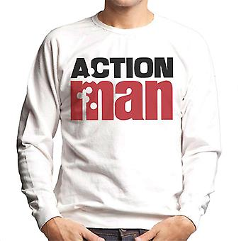 Action Man Logo Bullets Men's Sweatshirt