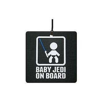 Baby-Jedi an Bord Auto-Lufterfrischer
