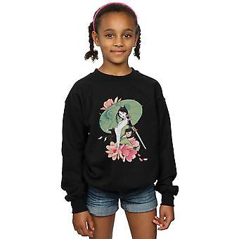 Disney-tytöt Mulan Magnolia kollaasi pusero