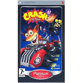 Crash Tag Team Racing (PSP-platina)-ny