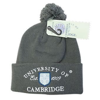 Licencia cambridge university™ pom pom gorro de esquí color carbón