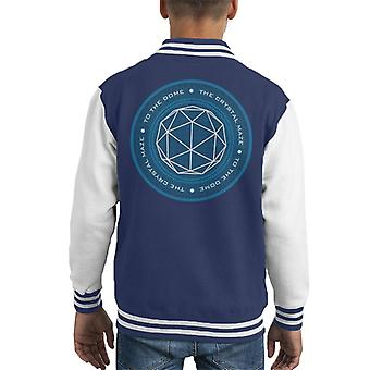 The Crystal Maze Logo Kid's Varsity Jacket
