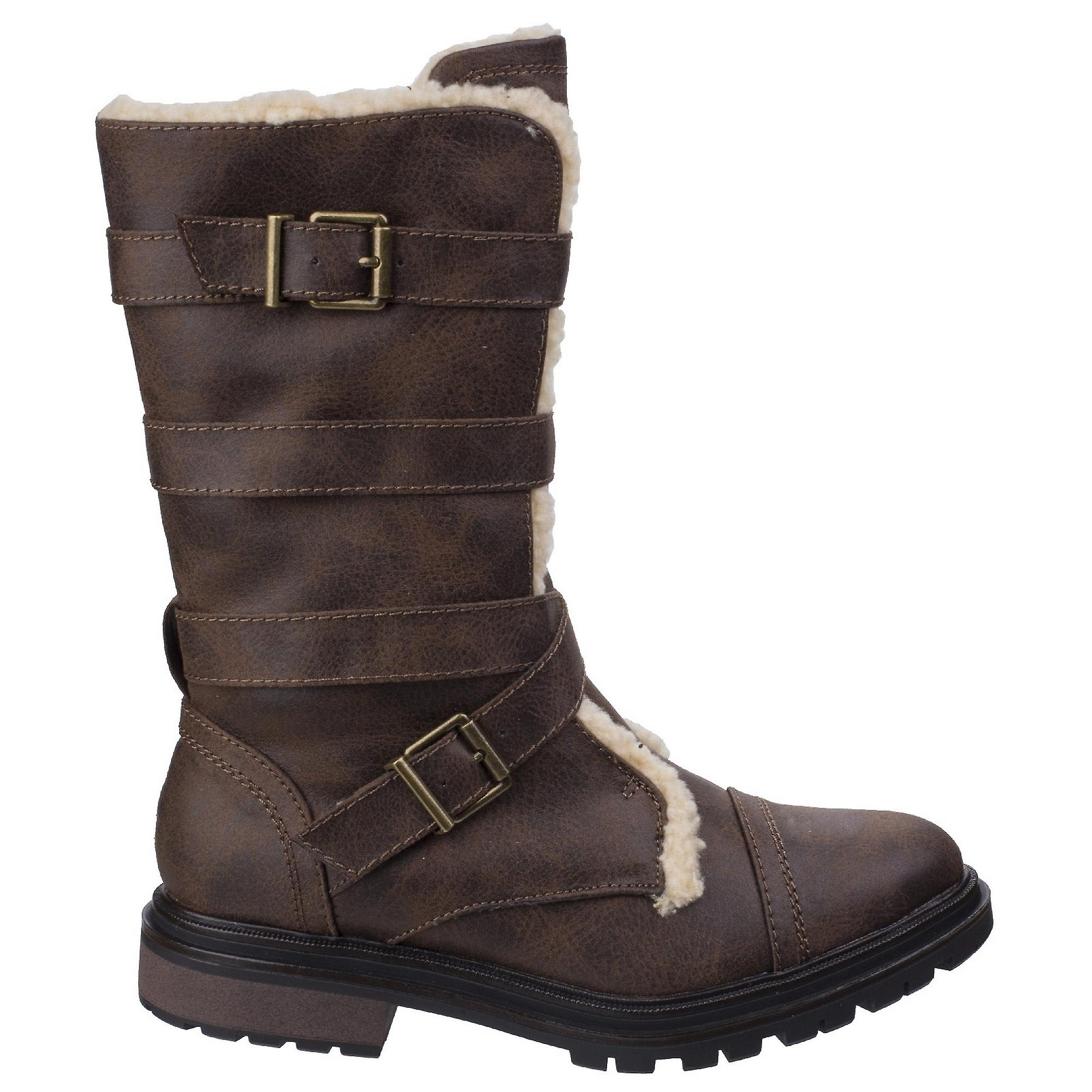 Rocket Dog Womens/Ladies Lance Buckle Long Boots