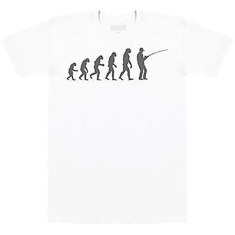 Evolution To Fishing - Mens T-Shirt