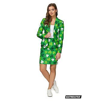 St Patricks Day Irland Sommer Damen Anzug Suitmeister Slimline Economy 2-teilig