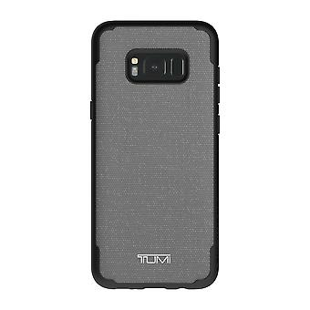 TUMI Coated Canvas Co-Mold Case for Samsung Galaxy S8 Plus - Grey