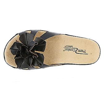 信标妇女杯蛋糕打开脚趾休闲幻灯片凉鞋