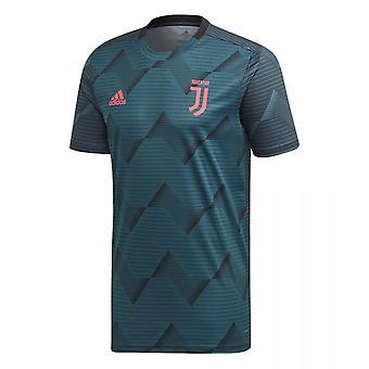 2019-2020 Juventus Adidas Pre-Match Training Shirt (Green)