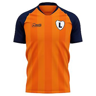 2019-2020 Luton Home Concept Fußball Shirt - Erwachsene langärmelig
