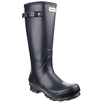 Hunter Norris Field Unisex Non-safety Wellington Boots Navy