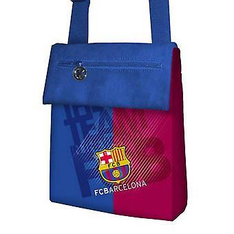 FC Barcelona Official Action Pocket Football Crest Mini Shoulder Bag