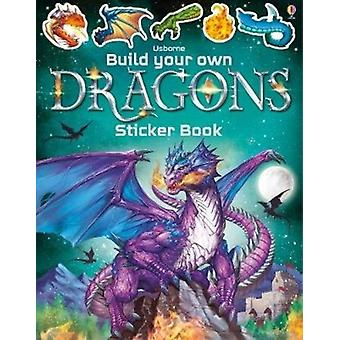 Build Your Own Dragons Sticker Book by Simon Tudhope