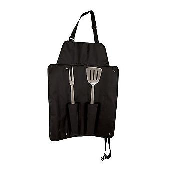 Ninja BBQ Tools with Apron Carry Case
