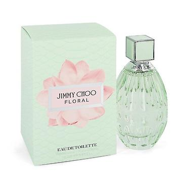 Jimmy choo floral eau de toilette spray von jimmy choo 546059 90 ml