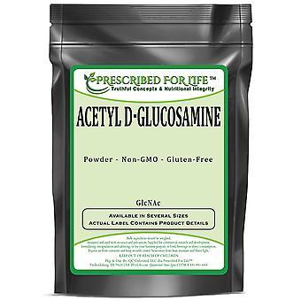 Acetil D-glucosamina - Derivado monosacarídeo de glicose (GlcNAc)