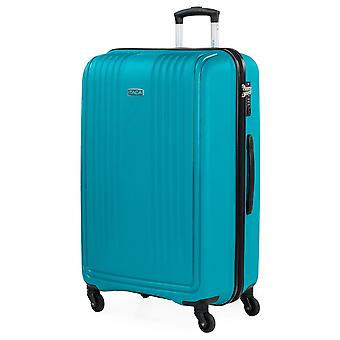 Big Travel Suitcase With Wheels From The Itaca Signature Made of Polypropylene Pp