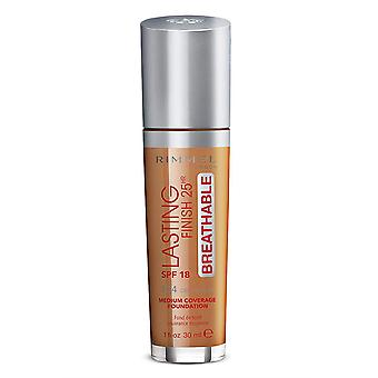 Rimmel London Lasting Finish Foundation Cobertura media 25Hr SPF20 30ml Deep Mocha #504