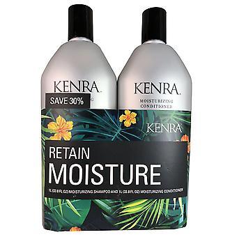 Kenra hydraterende haar shampoo en conditioner duo 33.8 oz elk