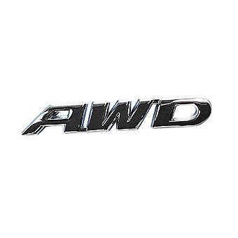 バンパーステッカー, AWD - シルバー