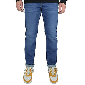 Tommy hilfiger men's conroe blue denton straight fit jeans