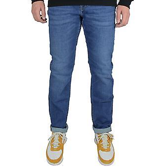 טומי הילפיגר גברים ' s כחול דנטון בכושר ישר ג'ינס