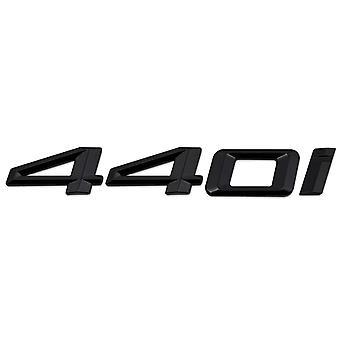 Gloss Black BMW 440i Car Model Rear Boot Number Letter Sticker Decal Badge Emblem For 4 Series F32 F33 F36 G22 G23 G26