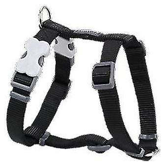Red Dingo lisse noir Pétral (chiens, colliers, câbles et harnais, harnais)