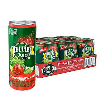 Perrier Slim Cans Strawberry Kiwi-( 330 Ml X 24 Cans )