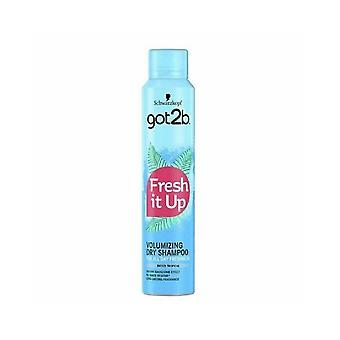 Schwarzkopf 6 X Schwarzkopf Got2b Fresh It Up Dry Shampoo - Breezy Tropical