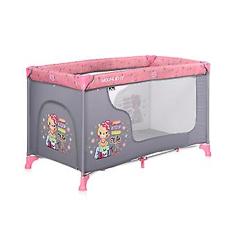 Lorelli Baby Travel Bed Running Stable Moonlight Side Opening Carrying Bag Foldable