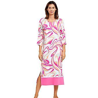 Féraud 3201012-10561 Kvinder's Couture Pink Multicolour Loungewear Natkjole