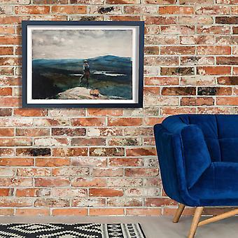 Winslow Homer - The Ranger Adirondacks Poster Print Giclee