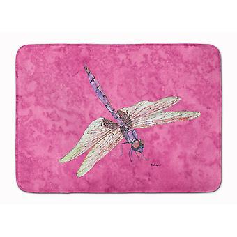 Каролинских сокровища 8891RUG стрекоза на розовый машина моющийся памяти пены Матем