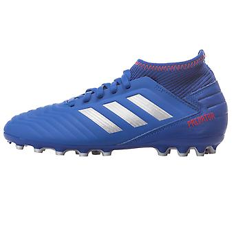 adidas Performance Boys Kids Predator 19.3 Turf Training Football Boots - Blue
