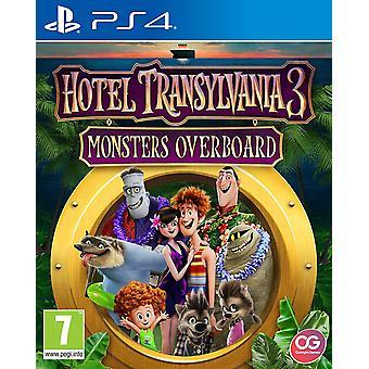 Hotel Transilvânia 3 monstros no mar jogo de PS4