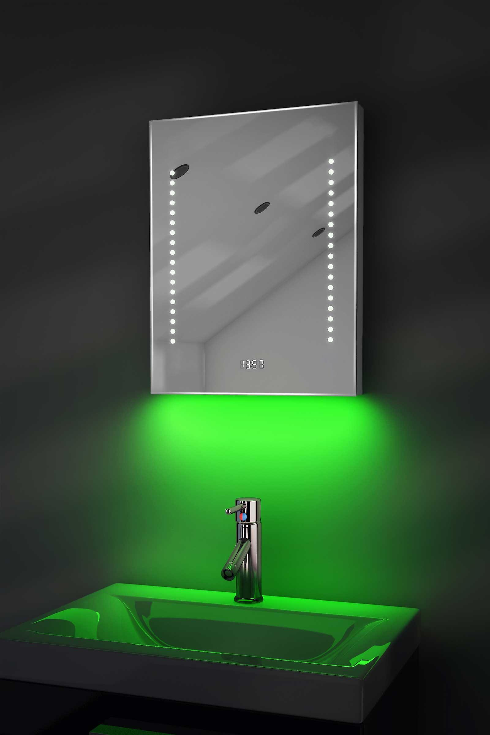 Auto Colour Change RGB with Clock,Bluetooth,Demist&Sensor k188rgbaud