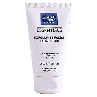 Tváre Exfoliator Essentials Martiderm (50 ml)