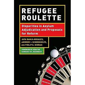 Ruleta de refugiados - las diferencias de adjudicación de asilo y de propuestas fo
