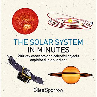 Solar System in Minutes by Giles Sparrow - 9781786485854 Book
