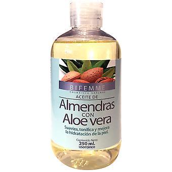 Bifemme Aceite Almendras + Aloe 250 ml