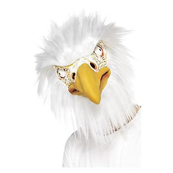 Adults Overhead Eagle Mask Fancy Dress Accessory