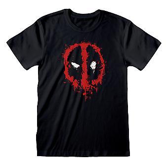 מרוול מארוול מעיכה הלוגו הפנים ' s חולצת טריקו | הסחורה הרשמית