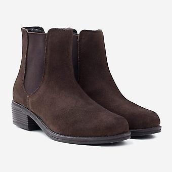 Victoria brown suede chelsea boot