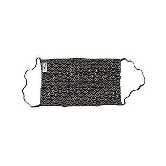 Mio HB1 Malá vlna Indigo bavlnená pleťová maska s odnímateľným nosom drôtu