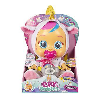 Baby Doll Cry Babies Dreamy Unicorn IMC Toys