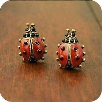 Love lady bug earrings for women