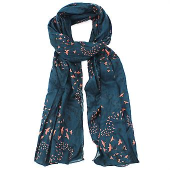 Pip & Hazel Organic Cotton Scarf Licenced from RSPB - Murmuration Grey