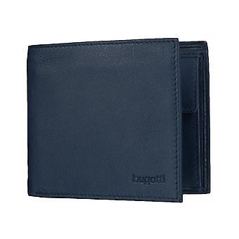 Bugatti Sempre plånbok mens plånbok handväska blå 4125