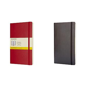Moleskine Classic L Soft Cover Squared Notebook