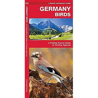 Germany Birds - A Folding Pocket Guide to Familiar Species by James Ka